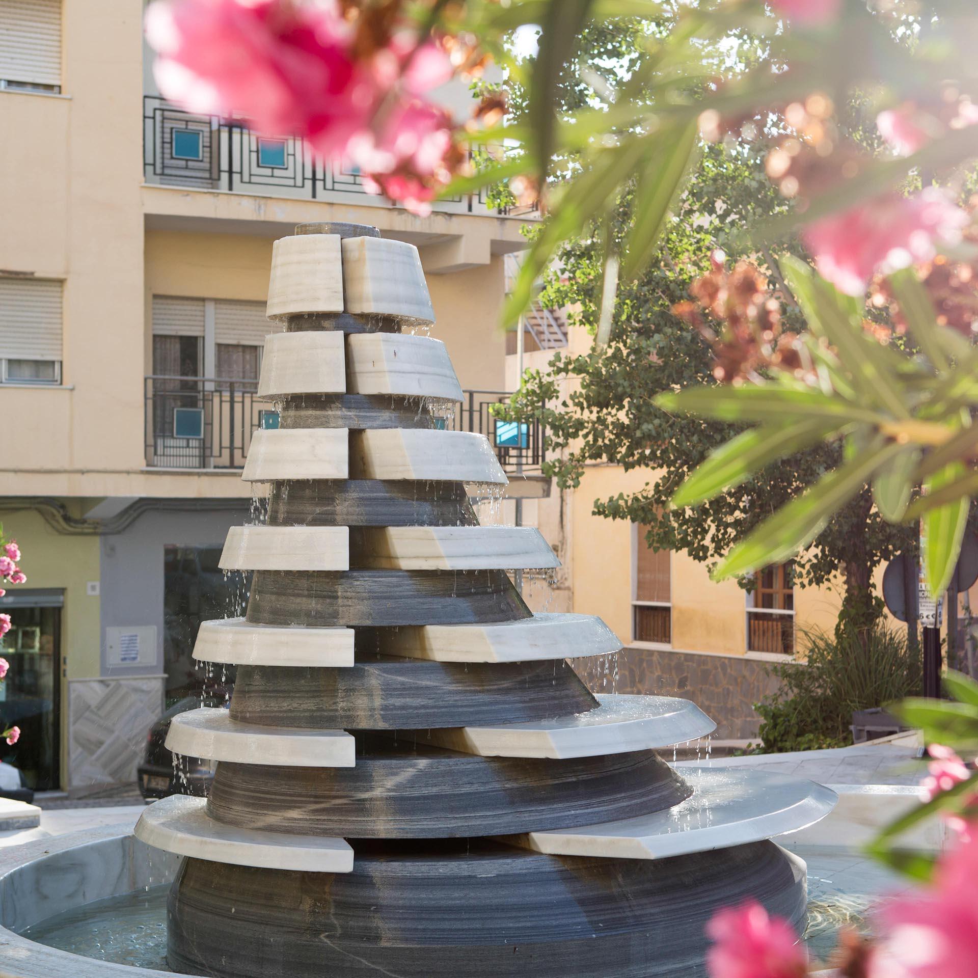 Fuente de la Plaza de Almería