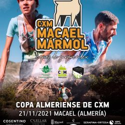 Cartel CMX Macael Mármol: Carrera de montaña y sendero 2021