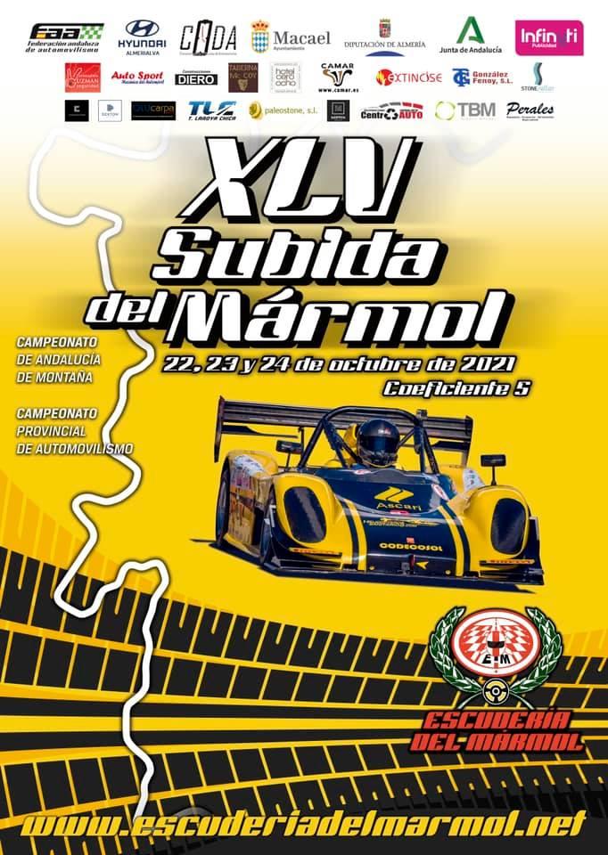 Rally Subida del Mármol 2021